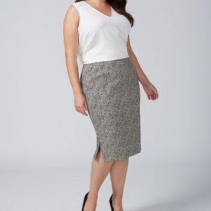 NWT Lane Bryant pencil skirt